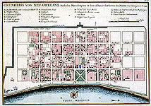 map of French Quarter