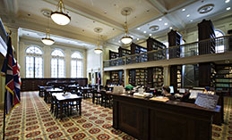 Williams Research Center\'s reading room
