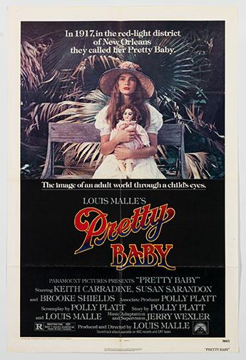 Pretty Baby movie poster