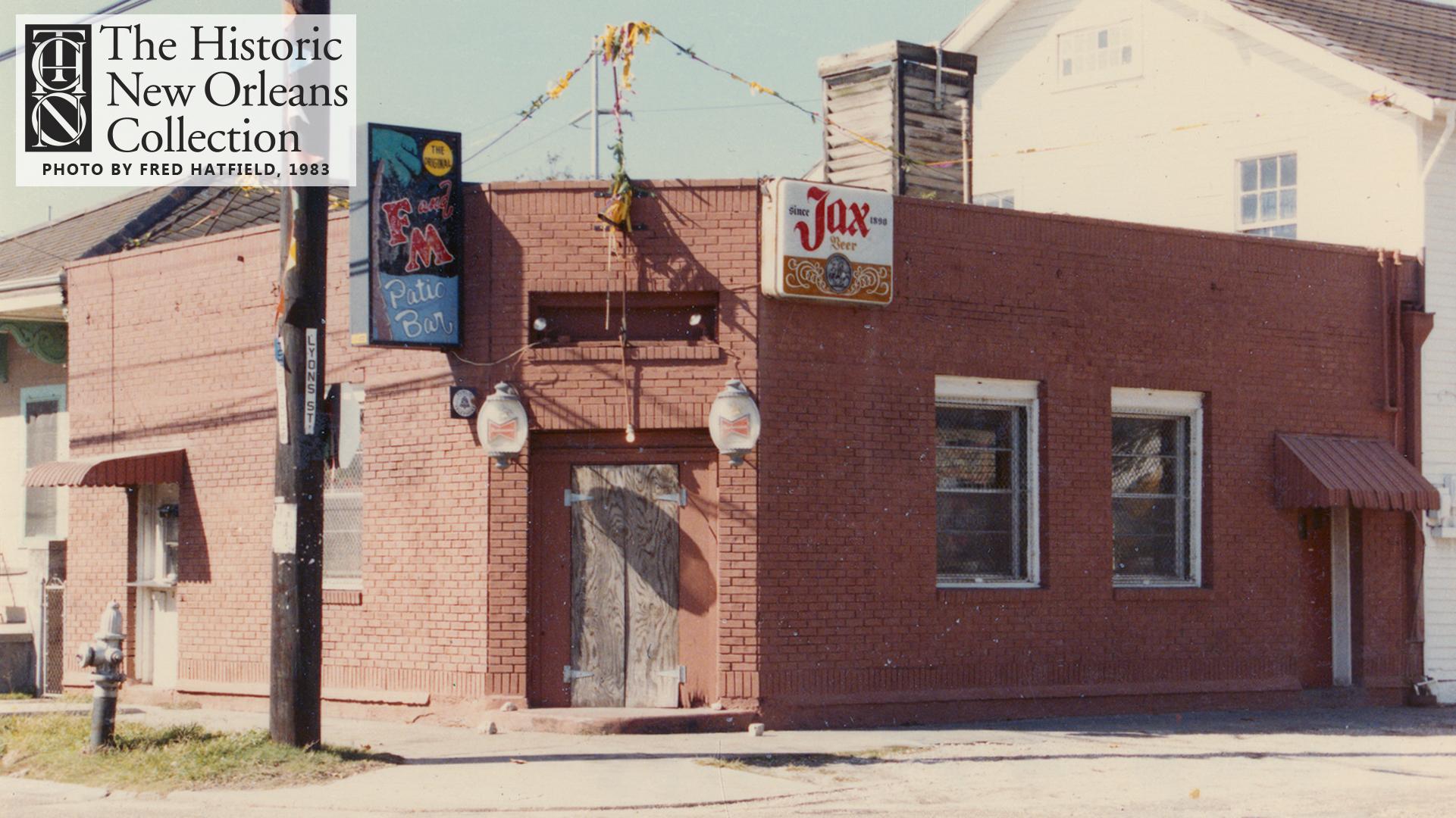The Original F&M Patio Bar