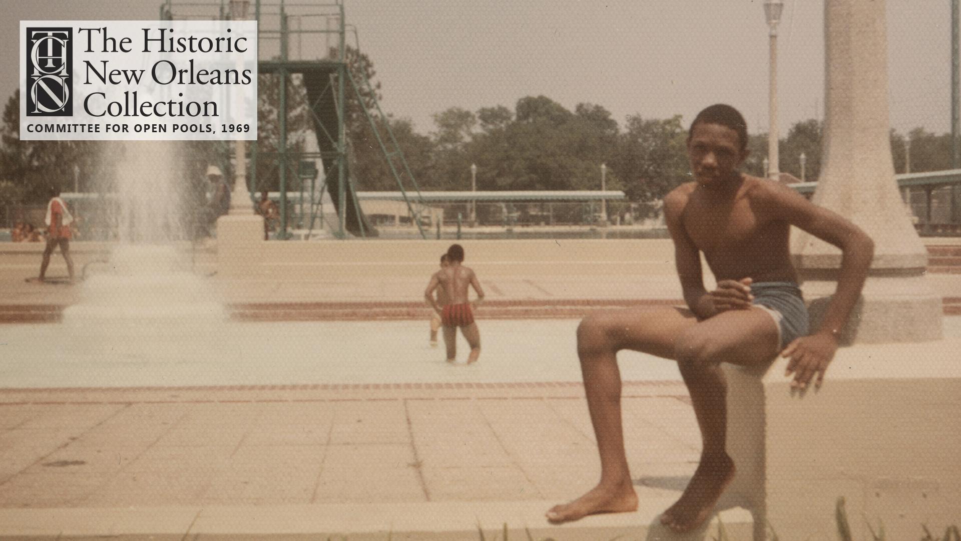 Young Men at Audubon Pool, 1969