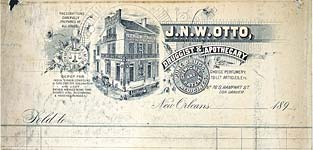 J.N.W. Otto Druggest apothecary bill