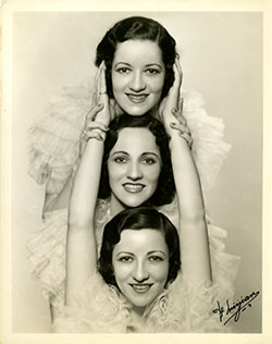 Boswell Sisters promotional photo