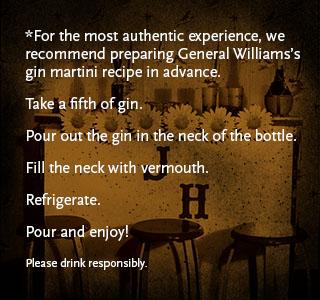 The General's Martini Recipe