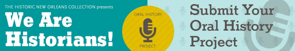 We Are Historians - Submit Your Oral History Project