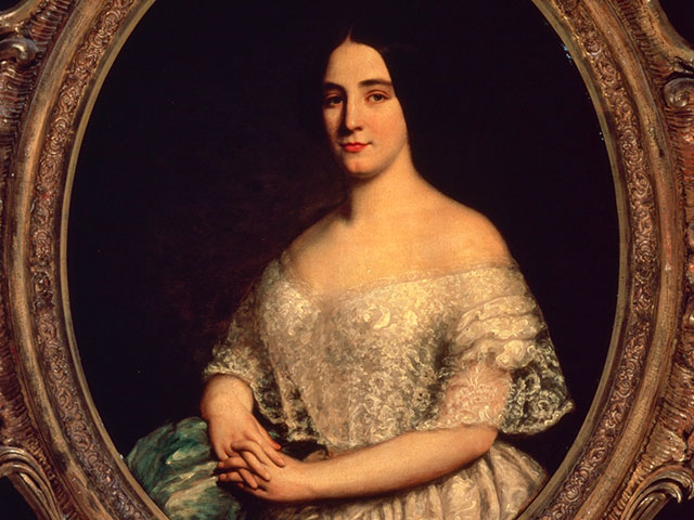 Jenny Lind; ca. 1850; oil on canvas mounted on masonite by George Peter Alexander Healy; The Historic New Orleans Collection, 1979.23