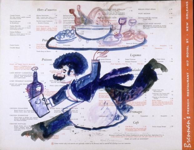 Brennan's menu