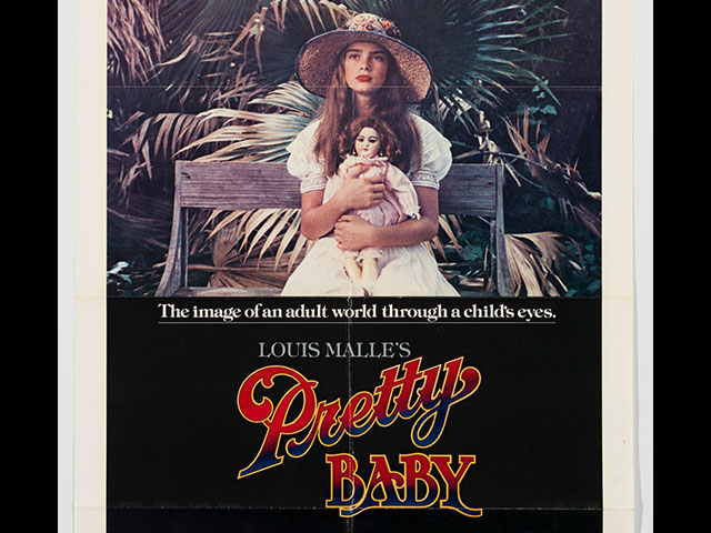 Pretty Baby movie poster