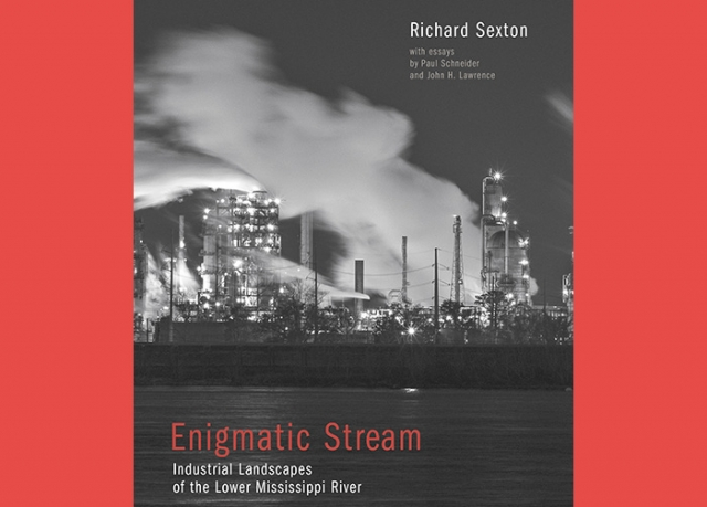 The cover of Enigmatic Stream: Industrial Landscapes of the Lower Mississippi River