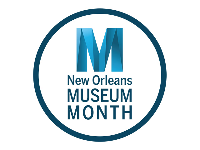 A graphic for New Orleans Museum Month