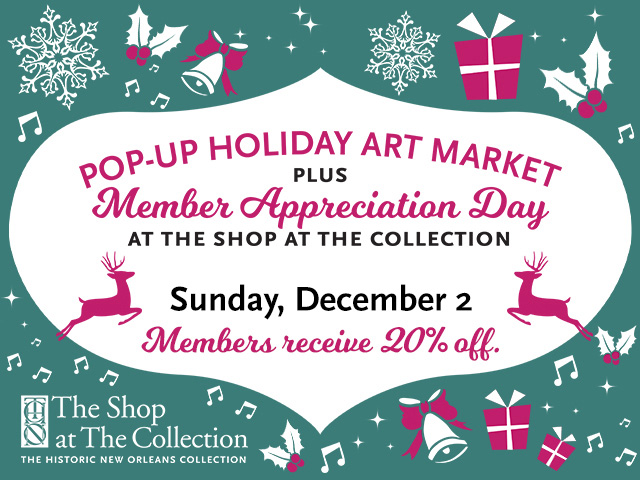 Pop-up Holiday Art Market