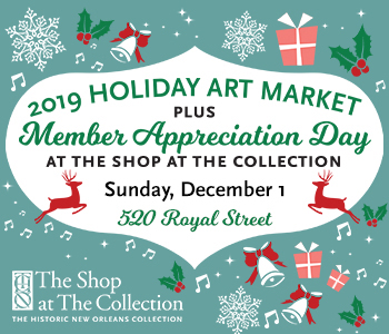 2019 Holiday Art Market & Member Appreciation Graphic