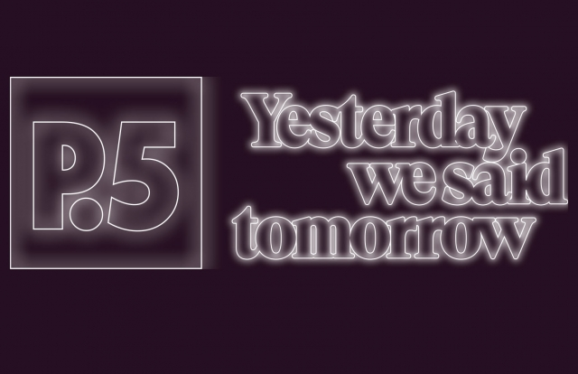Title graphic for Prospect New Orleans 5: Yesterday we said tomorrow