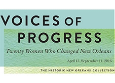 Voices of Progress: Twenty Women Who Changed New Orleans