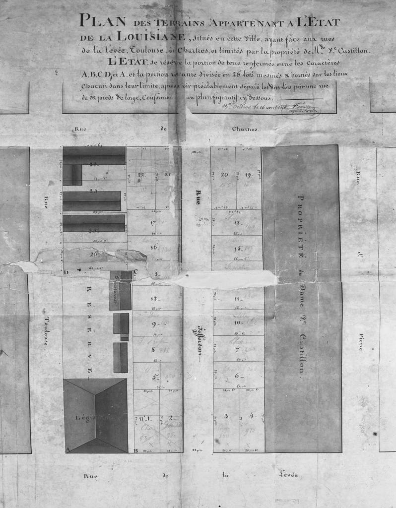The Collins C  Diboll Vieux Carré Survey: Property Info