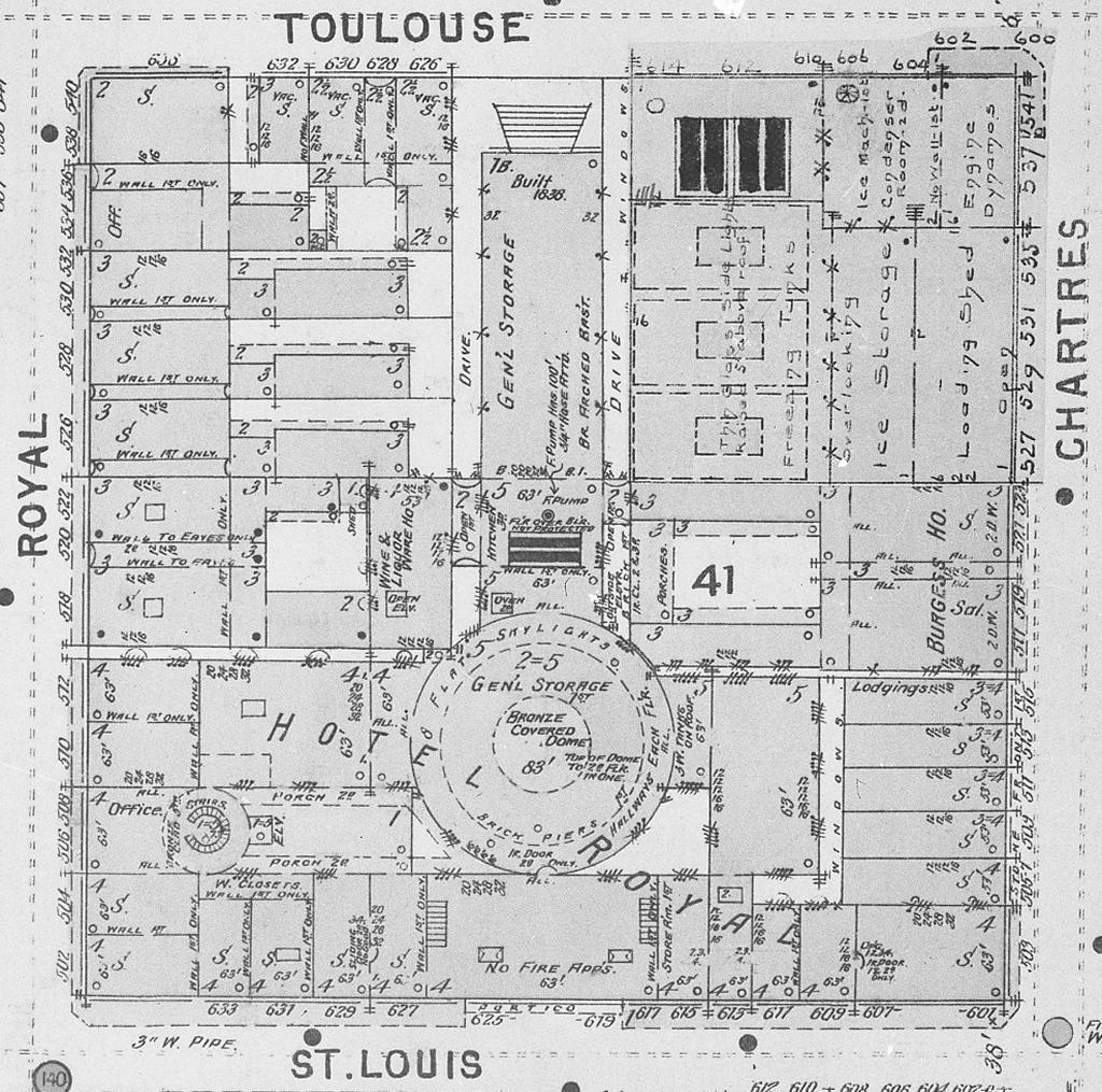 Warren house tulane floor plan