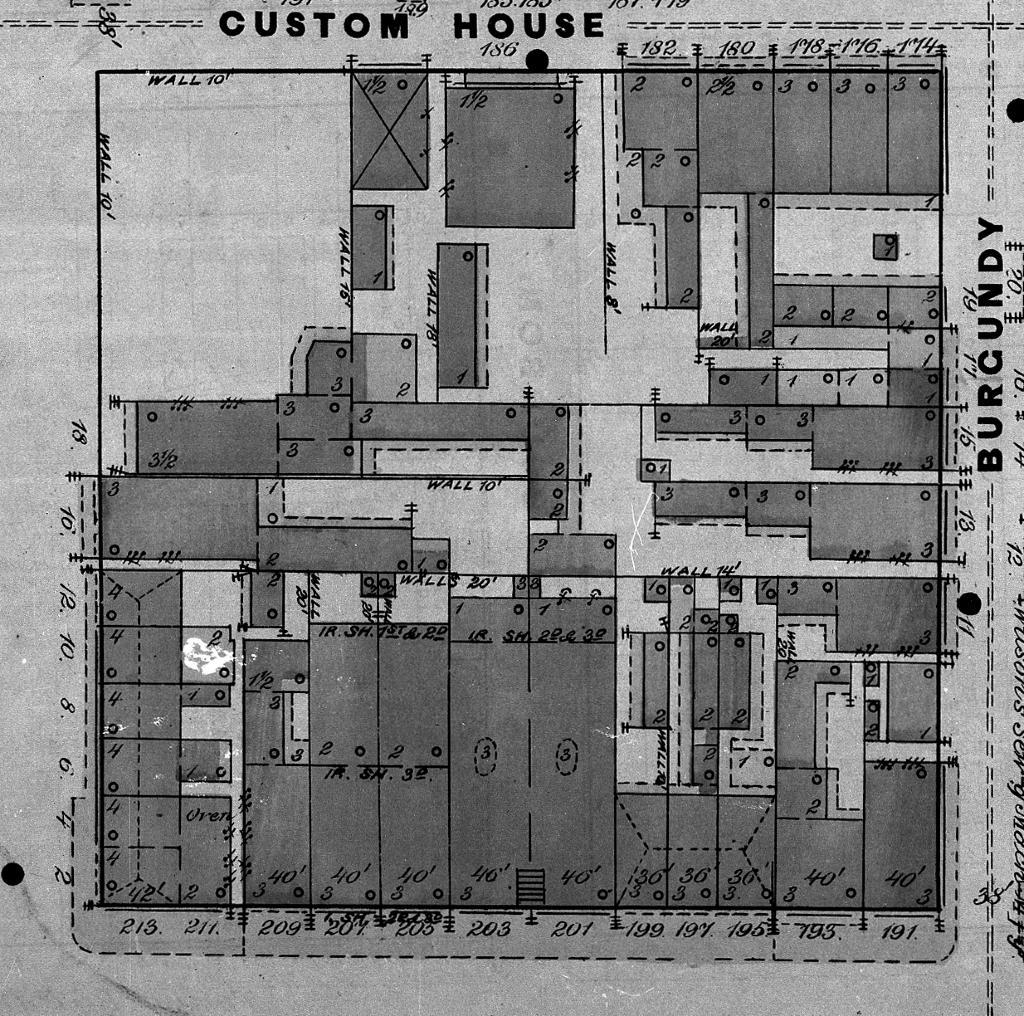 100+ [ Alamo Floor Plan 1836 ] | Imagining Texas An ...