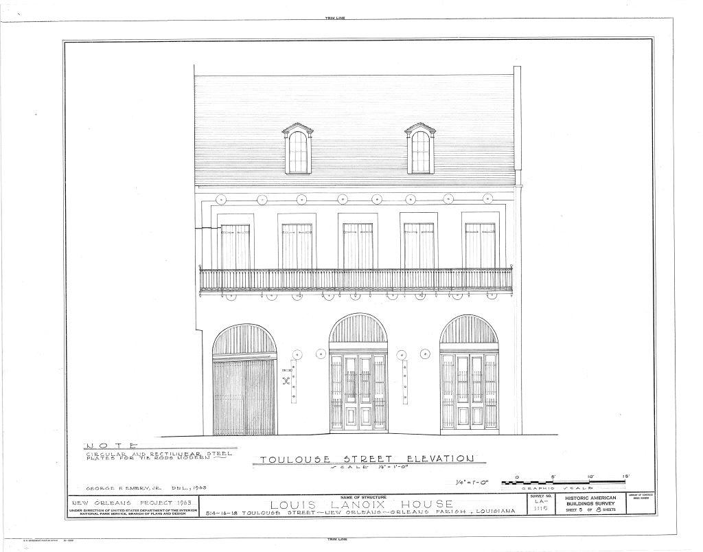 Floor Elevation Survey Manometer : The collins c diboll vieux carré survey property info