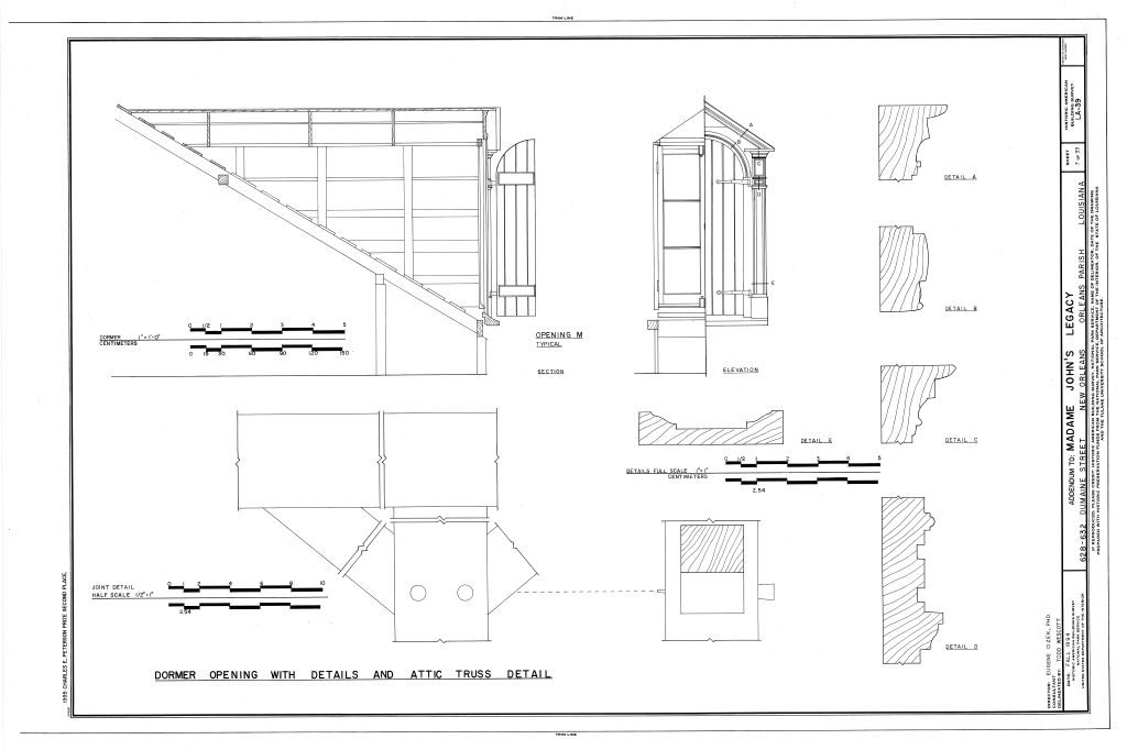 Dormer section 28 images typical loft conversion kpd for Dormer window construction drawings