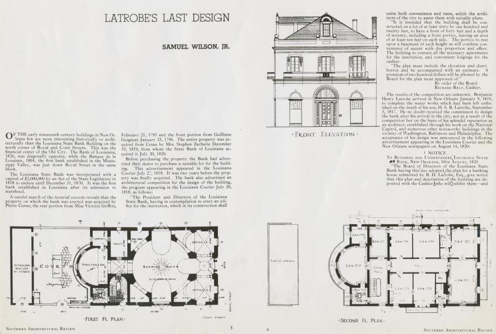 The Collins C Diboll Vieux Carr Survey Property Info